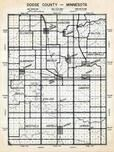 Dodge County Map, Dodge County 1956